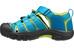 Keen Newport H2 Sandals Children Hawaiian Blue/Green Glow